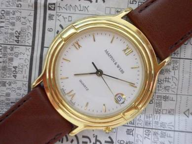 Original Mappin and webb swiss made gent watch