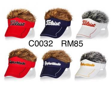 Artificial Hair Golf Caps