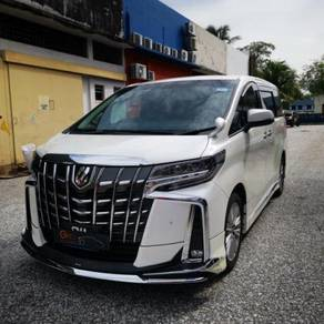 Toyota alphard 2019 facelift conversion