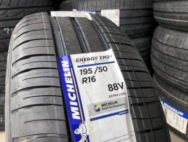 Tayar baru 195 50 16 Michelin xm2 Plus new tyre