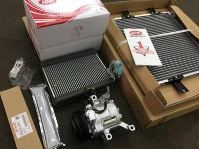 Myvi old 2005 - 2011 Fullset Aircon Parts AC