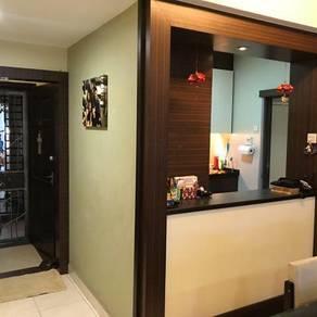 Endah Puri condo renovated corner unit