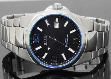 Bum Men Analog Stainless Steel Date Watch B75405