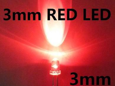 3mm red LED Bulb Light Emitting Diode Lamp brights
