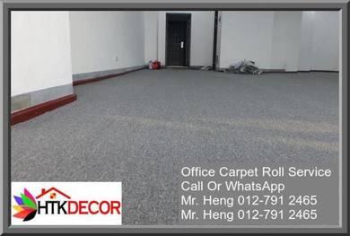 Modern Office Carpet roll with Install V4cD