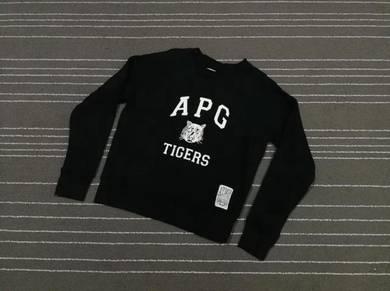 Atmos apg tigers sweatshirt saiz s to m