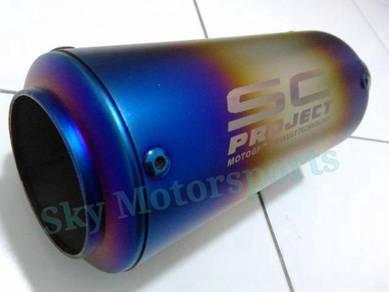 Exhaust Muffler Ekzos S C Inner 51 mm 2inch