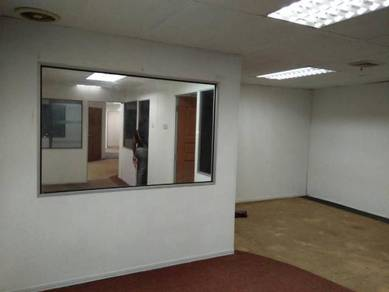 Batu caves - shop office - road frontage (mrr 2) - fully furnished