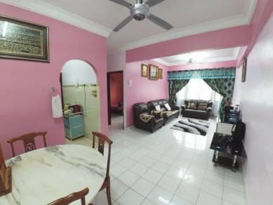BOOKING 1K RENOVATED CORNER UNIT Pangsapuri Mawar Apartment, Sentul KL