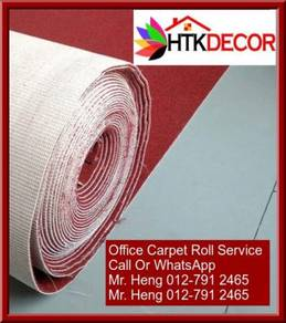 Classic Plain Design Carpet Roll with Install LL21