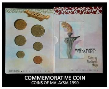 Syiling Peringatan - Coins Of Malaysia 1990