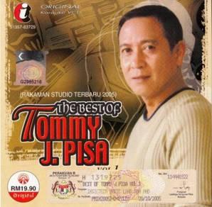 Tommy J Pisa - The Best Of Original Karaoke VCD