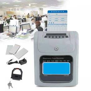 Smart 7 time recorder punchcard machine