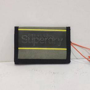 Superdry Velcro Logo Wallet - Army Pine