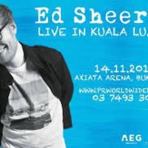 Ed sheeranâ™s ticket