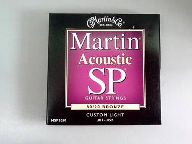 Martin 011-052 Acoustic Guitar String - MSP3050