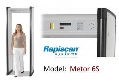 Rapiscan Metor6S walk through Metal Detector