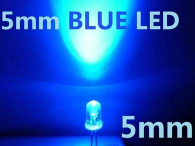5mm Blue LED Bulb Light Emitting Diode Lamp bright