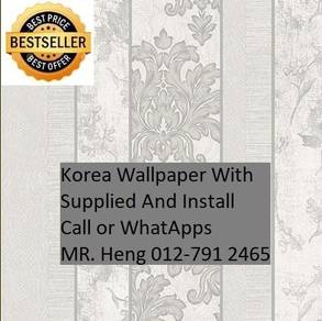 Classic wall paper with Expert Installation V361V