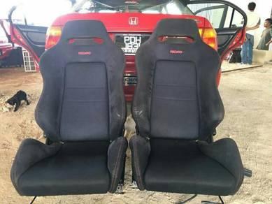 Seat Recaro Hitam DB8 Original Railing EK9