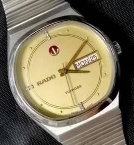 Jam original octagon Rado 6 diamond Voyager Watch