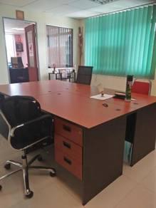 Newly renovated - shop office taman mastiara - fully furnished