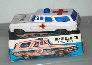 Old Tin Toys - Ambulance Friction (New Old Stock)