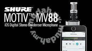 Shure Motiv MV88 Stereo Condenser Mics