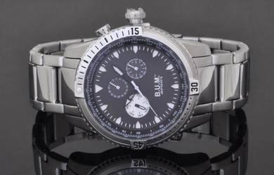 Bum Men Sports Multi Function Steel Watch B72602