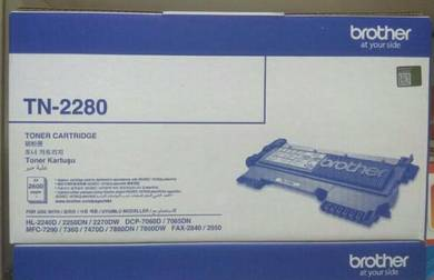 Genuine Original Toner Brother - TN-2280�