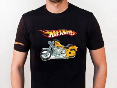Tshirt Baju HOT WHEELS HARLEY TSV Siap Pos Laju