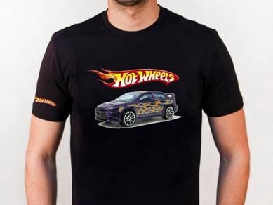 Tshirt Baju HOT WHEELS HW8 TSV Siap Pos Laju