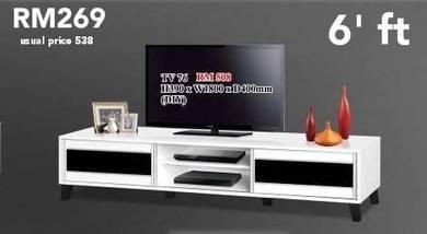 IOWA 6'ft LUXURIOUS TV CABINET