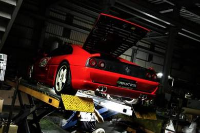 Ferrari classic model repair service rebuilt mobil