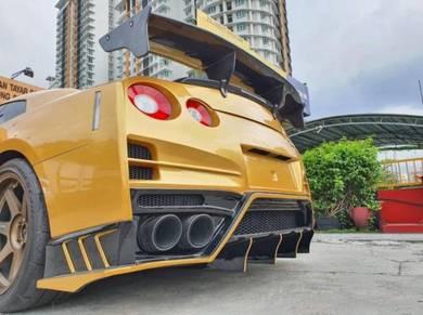Nissan GTR TOP SECRET V4 FULL CARBON SPOILER