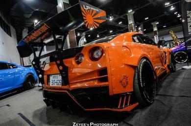 Nissan GTR R35 TOP SECRET V3 REAR BUMPER R 35
