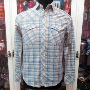 Vintage Western Sears Pearl snap button shirt