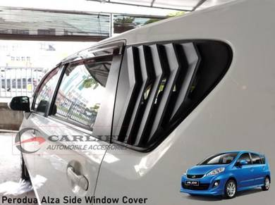 Perodua Alza Mustang Design Side Window Cover