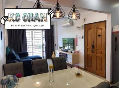 [AWESOME] Villa Emas FULLY FURNISHED RENO Beautiful 900sf Bayan Lepas