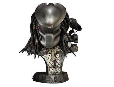 Predator Masked Hunter Legendary Bust Sideshow