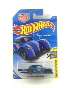 Hotwheels 2018 Volkswagen Kafer Racer #2 Blue