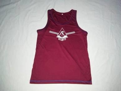 Atlantis Red Singlet Shirt L (Kod AV2908)