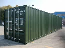 40feet shipping container storage