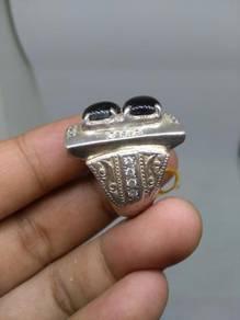 Cincin black star sapphire