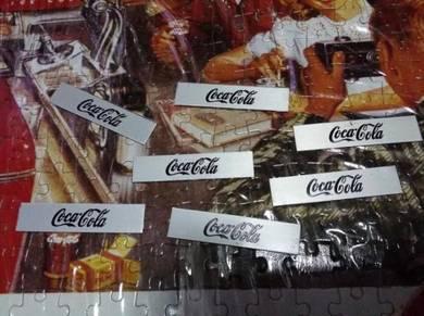 Coca cola plate lama