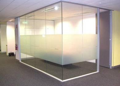 Partition # Glass Aluminium # Suspend Ceiling