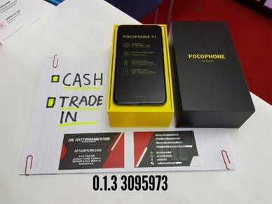 Xiomi - pocophone - f1 - 128gb - new