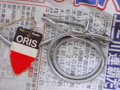 Vintage Oris pocket watch chain