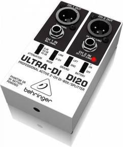 Behringer ultra-di di20 Active 2-Ch DI Box
