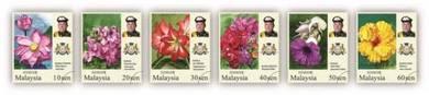 Mint Stamp Definitive Series Johor Malaysia 2016